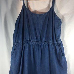 Old navy summer denim dress 4x